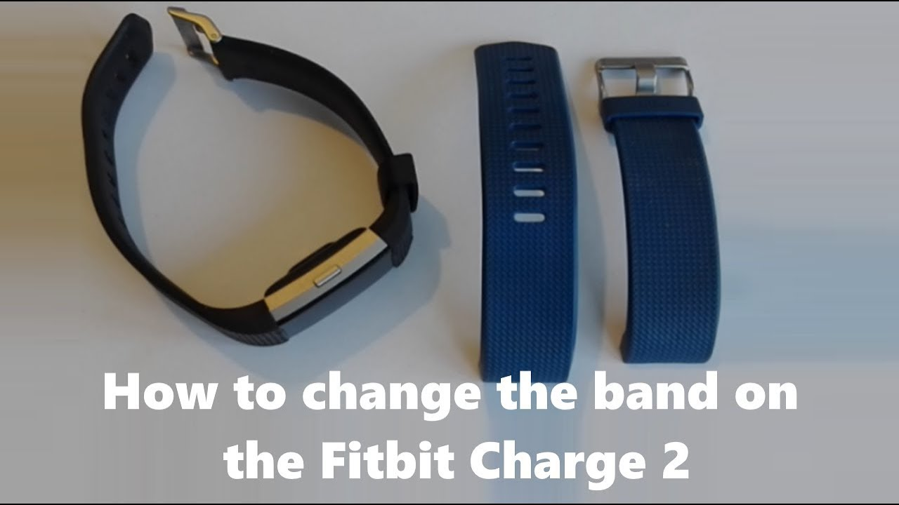 how to change your fitbit charge hr 2 band